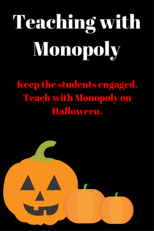 Teaching with Monopoly Halloween