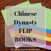 Chinese Dynasty Flip Books