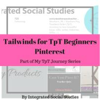 Tailwinds for TpT Beginners Pinterest