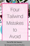 Four Tailwind Mistakes to Avoid