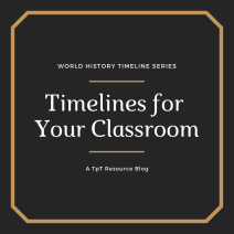 timelines for the classroom blog cover