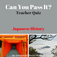 Can You Pass It Japanese History