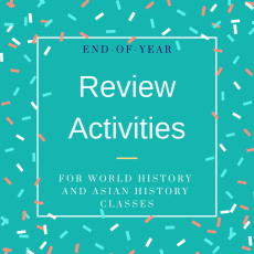 End of Year Review Activities