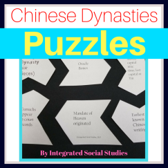 Chinese Dynasties Puzzles
