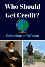 Columbus or Erikson