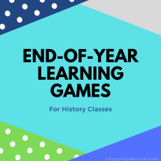 End of Year Learning Games