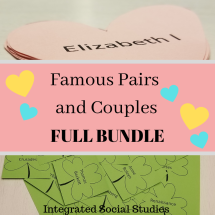 Famous Pairs and Couples Full Bundle Cover