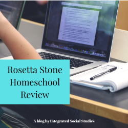 Rosetta Stone Homeschool Review