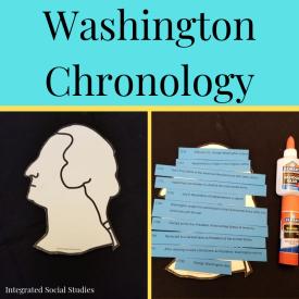 Washington Chronology
