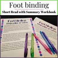 Foot binding