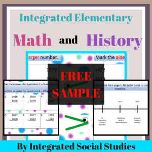 Math and History Free Sample