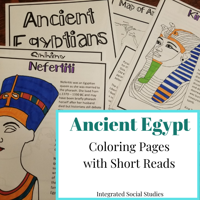 Top 10 Ancient Egypt Coloring Pages For Toddlers | 800x800