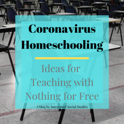 Coronavirus Homeschooling Ideas Blog