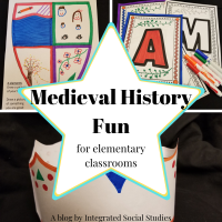 Medieval History Fun for elementary classrooms