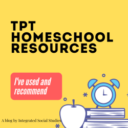 TpT Homeschool Resources I've Used